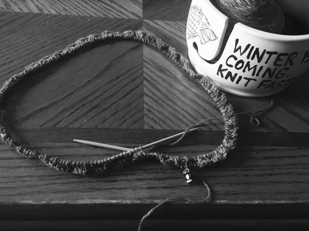 Knitters gotta knit